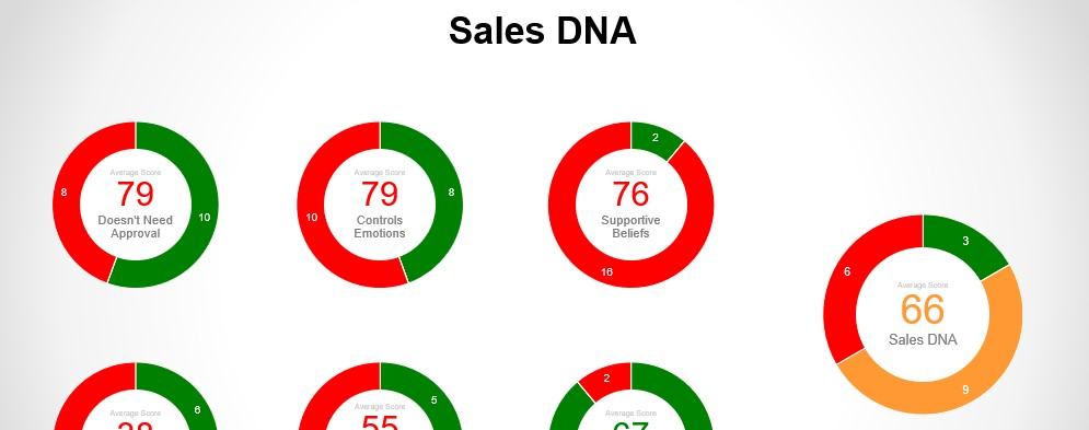 Competencies of Sales DNA
